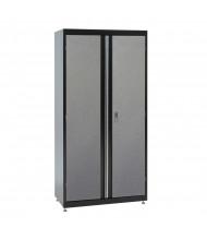 """Sandusky 36"""" W x 18"""" D x 72"""" H Storage Cabinet, 2-Tone"""