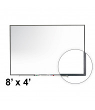 Ghent ITGM-48 Image Trim 8 ft. x 4 ft. Porcelain Magnetic Whiteboard