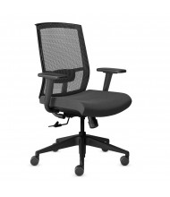 Mayline Gist GS11 Multi-Purpose Mesh-Back Fabric High-Back Task Chair