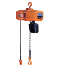 Vestil H-1000-1 15 ft. Economy Chain Hoist with Chain Container 1000 lb Load