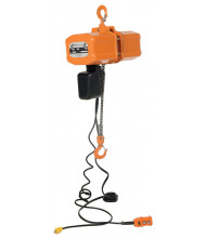 Vestil H-2000-1 15 ft. Economy Chain Hoist with Chain Container 2000 lb Load