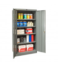 "Hallowell 400 Series 36"" W x 72"" H Storage Cabinets (Shown in Dark Grey)"