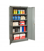"Hallowell 400 Series 48"" W x 72"" H Storage Cabinets (Shown in Dark Grey)"