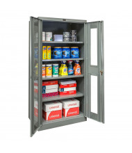 "Hallowell 400 Series 48"" W x 72"" H Safety-Viewage Cabinets (Shown in Dark Grey)"