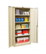 "Hallowell 800 Series 78"" H Storage Cabinets (Shown in Tan)"