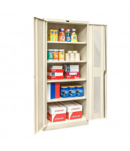 "Hallowell 800 Series 78"" H Ventilated Storage Cabinets (Shown in Tan)"