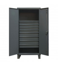 Durham Steel 12 Gauge Cabinets with Drawers (1 Shelf & 8 Drawer Model)
