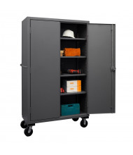 Durham Steel 4-Shelf 12-Gauge Mobile Storage Cabinets