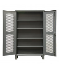Durham Steel Adjustable 4-Shelf Ventilated 12 Gauge Cabinets