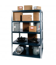 "Durham Steel 96"" H 5-Shelf Heavy Duty Steel Shelving"