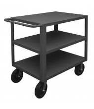 Durham Steel 3-Shelf 5000 lb Load Heavy Duty Stock Carts