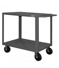Durham Steel 2-Shelf 4000 lb Load Heavy Duty Stock Carts