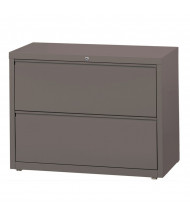 "Mayline 2-Drawer 42"" Wide Lateral File Cabinet, Letter & Legal (Shown in Medium Tone)"
