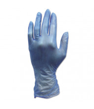 Hospital Specialty Co. ProWorks Industrial Grade Disposable Vinyl Gloves, Small, Blue, 1,000/Pack
