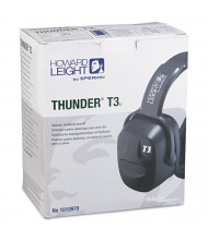 Howard Leight by Honeywell Thunder T3 Dielectric Earmuffs, 30NRR, Black