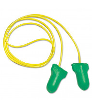 Howard Leight by Honeywell LPF-30 Max Lite Single-Use Earplugs, Corded, 30NRR, Green, 100/Pairs