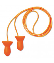 Howard Leight by Honeywell Quiet Multiple-Use Earplugs, Corded, 26NRR, Orange/Blue, 100/Pairs