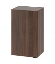 "HON 18"" W x 14"" D 1-Door Hospitality Hanging Wall Modular Cabinet (Shown in Walnut)"