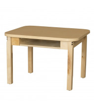 "Wood Designs 24"" W x 28"" D High Pressure Laminate Student Desks"
