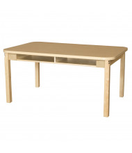 "Wood Designs 48"" W x 18"" D High Pressure Laminate Student Desks"