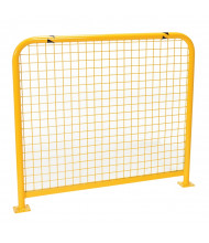"Vestil 1.625"" High Profile 36"" L x 36"" H Welded Mesh Machinery Guard HPRO-M-36-36-2 (48"" x 42"" model shown)"