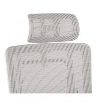 Office Star Pro-Line II Mesh Headrest for 99661W Office Chairs, White