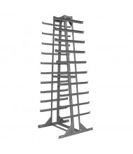 "Durham Steel 30"" W x 30"" D x 85"" H 9-Level Horizontal Storage Rack"