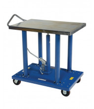 "Vestil HT-20-2436A Hydraulic Steel Post Table 2000 lb Load 24"" X 36"""