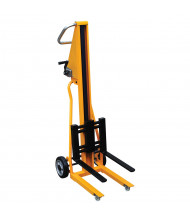 "Vestil HWL-260 260 lb Load 41"" Lift Portable Mini Stacker"