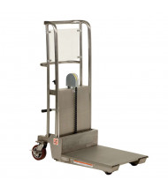 "Vestil Hefti-Lift Partially Stainless Steel 450 lb Load 45"" Height"