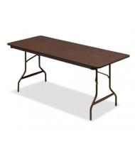 """Iceberg 55324 30"""" x 72"""" Economy Wood Laminate Folding Table"""