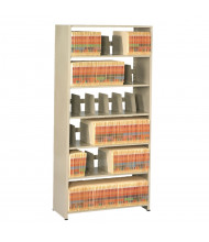 "Tennsco Imperial 12"" D Open-Back Shelving Units, Letter"