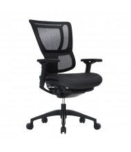Eurotech iOO Mesh High-Back Executive Office Chair (Shown in Black)