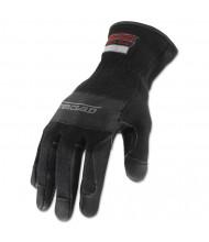 Ironclad Heatworx Heavy Duty Gloves, Black/Grey, Large