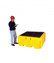 Vestil 360-Gallon Capacity Intermediate Bulk Crate Spill Containment Pallet