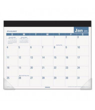 AT-A-GLANCE Easy-to-Read Monthly Desk Pad