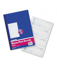 "Adams 7-5/8"" x 11"" 100-Page Receipt Book"