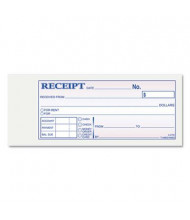 "Adams 2-3/4"" x 7-3/16"" 50-Page Receipt Book"