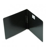 """Acco 2"""" Capacity 8-1/2"""" x 11"""" Prong Clip Reinforced Hinge Report Cover, Black"""