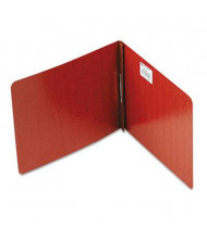 """Acco 2"""" Capacity 8-1/2"""" x 11"""" Prong Clip Reinforced Hinge Report Cover, Red"""