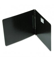 """Acco 3"""" Capacity 8-1/2"""" x 11"""" Prong Clip 4-1/4"""" Center Reinforced Hinge Report Cover, Black"""