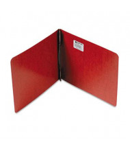 """Acco 3"""" Capacity 8-1/2"""" x 11"""" Prong Clip Reinforced Hinge Report Cover, Red"""