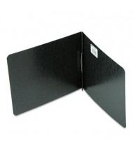"""Acco 2"""" Capacity 8-1/2"""" x 11"""" Prong Clip Pressboard Reinforced Hinge Report Cover, Black"""