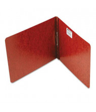 """Acco 2"""" Capacity 8-1/2"""" x 11"""" Prong Clip Reinforced Hinge Pressboard Report Cover, Red"""