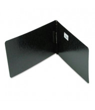 """Acco 2"""" Capacity 8-1/2"""" x 14"""" Prong Clip Pressboard Reinforced Hinge Report Cover, Black"""