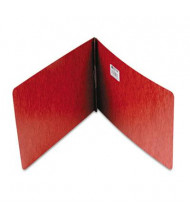 """Acco 2"""" Capacity 8-1/2"""" x 11 Prong Clip Pressboard Reinforced Hinge Report Cover, Red"""