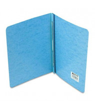 """Acco 3"""" Capacity 8-1/2"""" x 11"""" Prong Clip Reinforced Hinge Report Cover, Blue"""