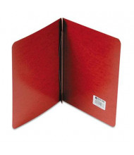 """Acco 3"""" Capacity 8-1/2"""" x 11"""" Prong Clip Report Cover Reinforced Hinge, Red"""