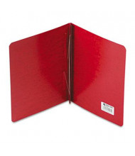 """Acco 3"""" Capacity 8-1/2"""" x 11"""" Prong Clip Reinforced Hinge Report Cover, Executive Red"""