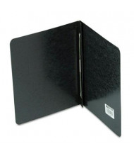 """Acco 3"""" Capacity 8-1/2"""" x 11"""" Prong Clip Reinforced Hinge Pressboard  Report Cover, Black"""